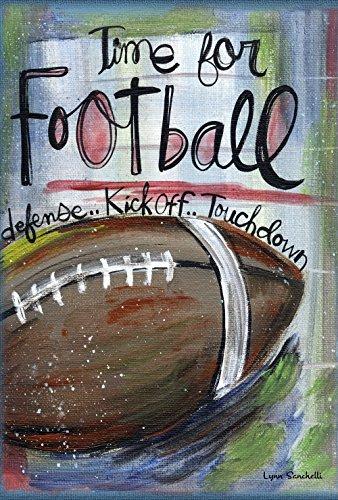 Toland Home Garden Football Time Decorative Sport/Game Garden Flag, 12.5