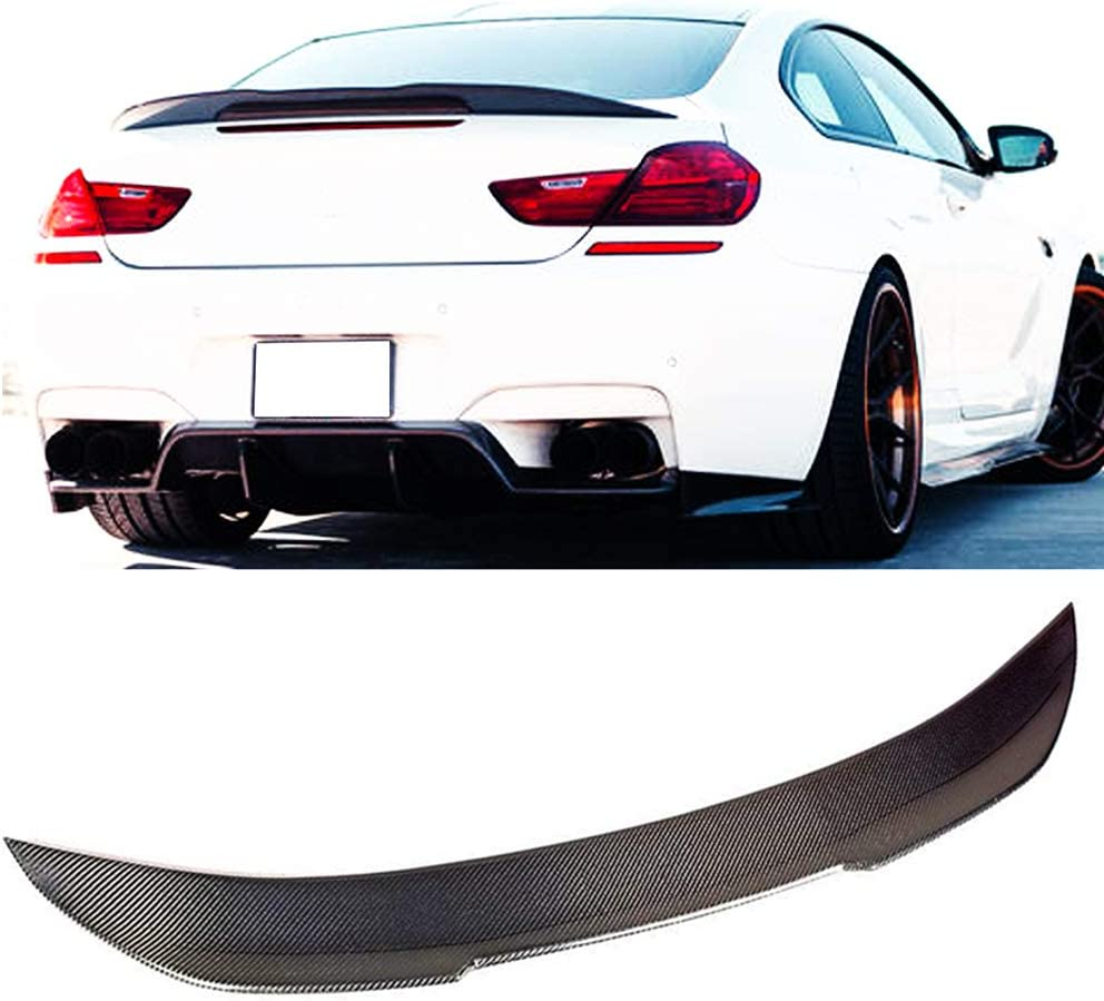 Carbon Fiber PS STYLE Trunk Wing Spoiler For BMW F13 640i 650i M6 Coupe 2012+