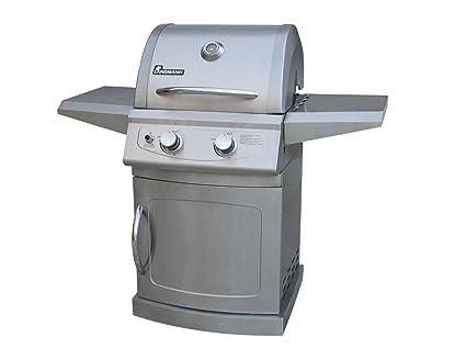 Landmann Gasgrill At : Amazon.com: landmann 42204 falcon 2 burner lp gas grill with side