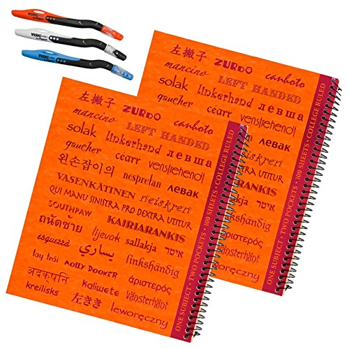 Left handed College Notebooks Printed Languages product image