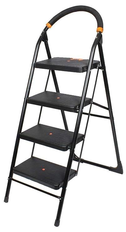 Ciplaplast GEC-L4M 4 Step Milano Folding Ladder (Black)