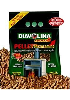 Diavolina P/estufas pellets