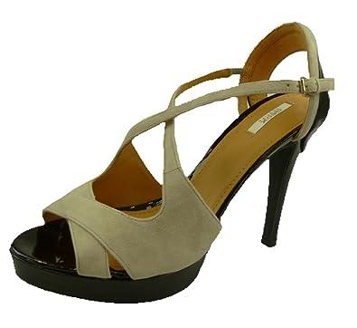 Geox Women s Donna Ivana S. A Fashion Sandals Multicolour Lt Grey Black 7be13a4257e