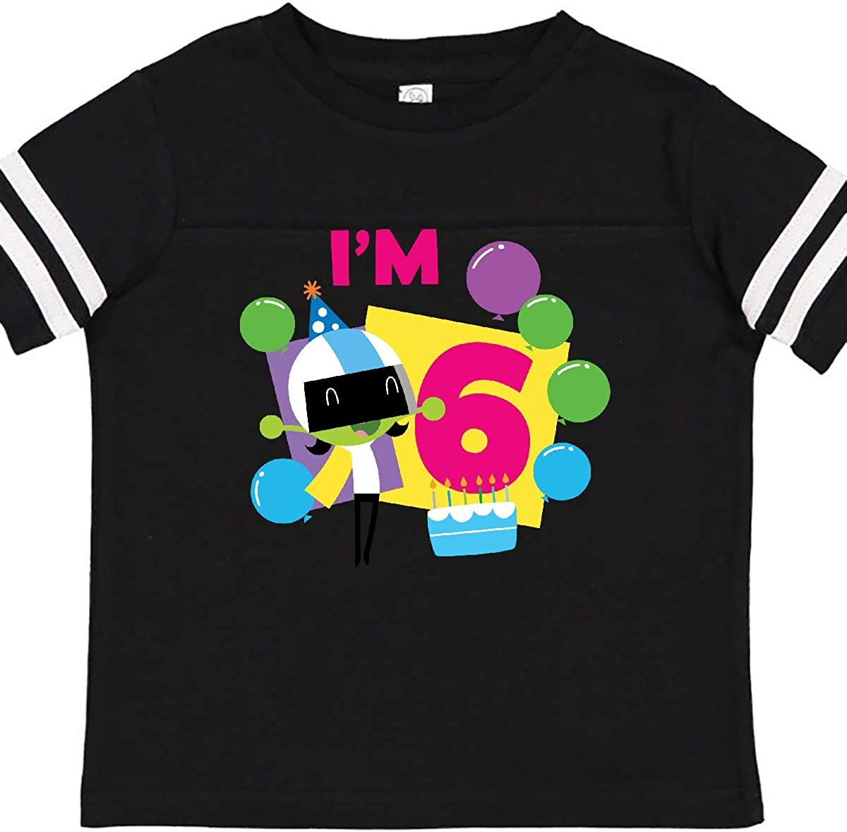PBS Kids inktastic Im 6 with Dee and Balloons Toddler T-Shirt