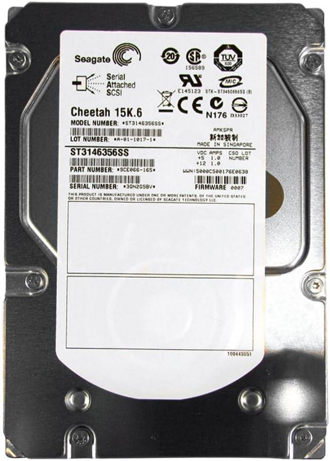 Seagate ST3146356SS 146-GB 15K 3.5 3G DP SAS HDD