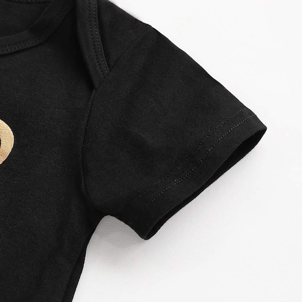 Camiseta Bodies sin Mangas Verano Tirantes Camisa beb/é ni/ñas Body y Camiseta Tirantes para 0-18M ni/ñas Bebes