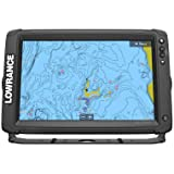 Lowrance Elite-12 Ti2 Fishfinder/Chartplotter Combo with Active Imaging 3-in-1 Transom Mount Transducer & US Inland Chart