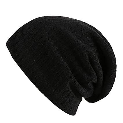 b88a1a6f803 Image Unavailable. Image not available for. Color  Vovomay Women Men Warm  Crochet Winter Villus Knit Beanie Caps Hat Ear Protection Thicker ...