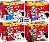 Horizon Organic Variety Pack! Vanilla, Strawberry, Chocolate, Lowfat Milk, 6-8oz TetraPak (Pack of 4, Total of 24 TetraPaks)