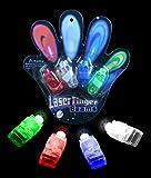 Laser Finger Beams - 48 ct. box Bright LED finger lights