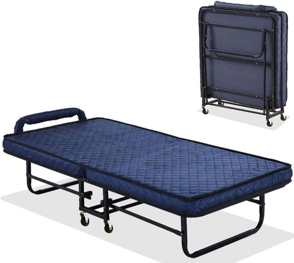 Cama Plegable Cama Plegable con colchón Ajustable Diseño ...