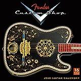 Fender Custom Shop Guitars 2018 Wall Calendar (CA0133)