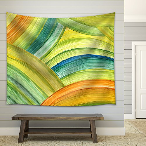 Abstract Acrylic Painting Background Fabric Wall Tapestry