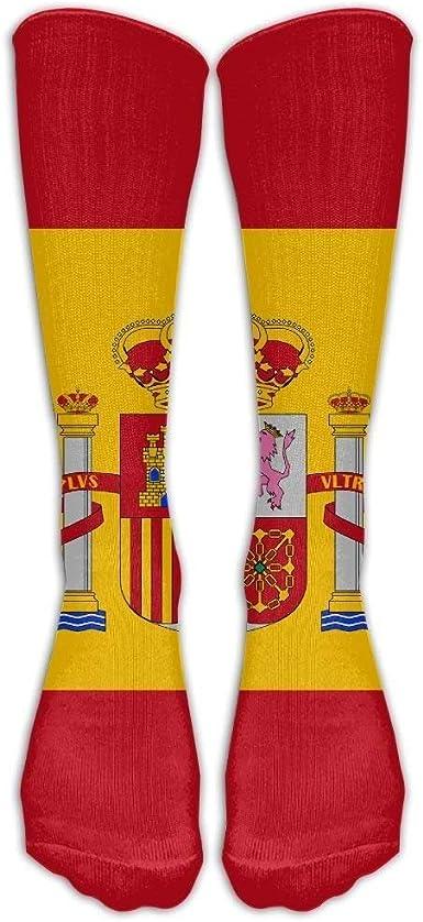 Calcetines de compresión de la bandera de España Calcetines de ...