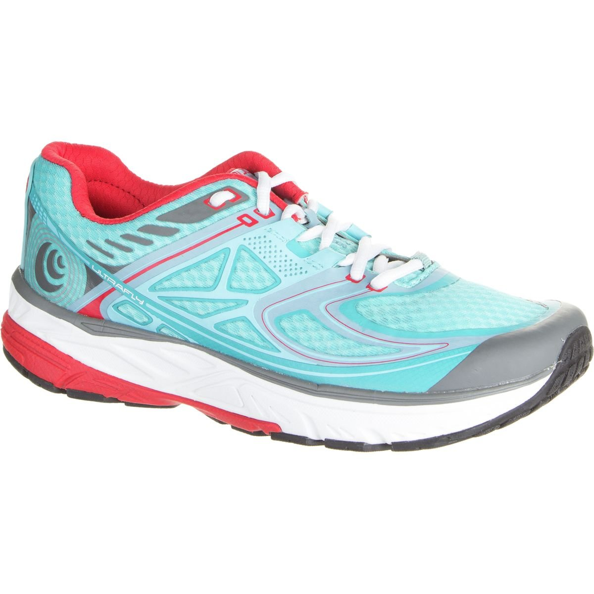 Topo Athletic Ultrafly Running Shoe - Women's B01FG8MW7Y 9.5 B(M) US|Ice/Red