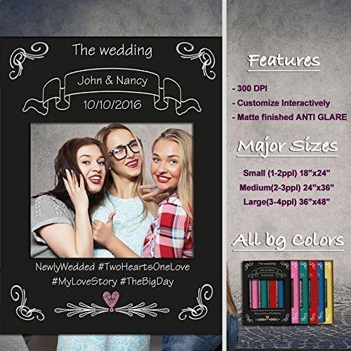 Amazoncom Decorative Fancy Selfie Frame Prop For Parties Cutout