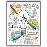 Tia Creation Lightbulb Ideas 0192 Poster On Matte Photographic Paper 24Inch X 32Inch