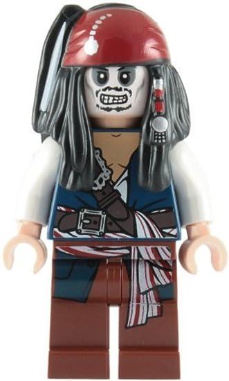 LEGO Pirates of the Caribbean: Captain Jack Sparrow (Skeleton ...