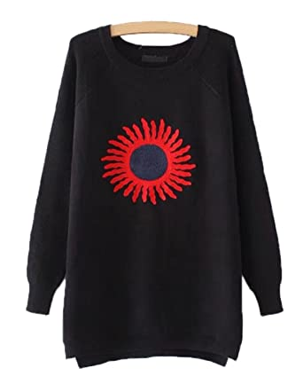 Suéteres De Las Mujeres Chaqueta De Punto Camiseta De Las