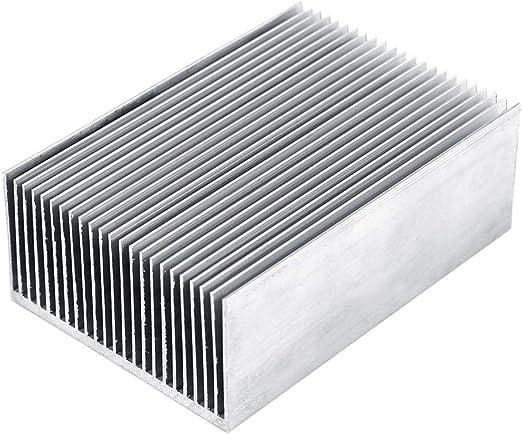 DIYElectronic 5pcs 353510mm Heatsink Radiator Cooler Cooling Fin Aluminum Heat Sink for LED Power IC Transistor Module PBC 35X35X10mm