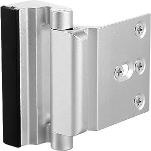 Door Reinforcement Lock High Security to Your Home Add Extra Upgrade Easy Open Childproof Door Reinforcement Lock with 3