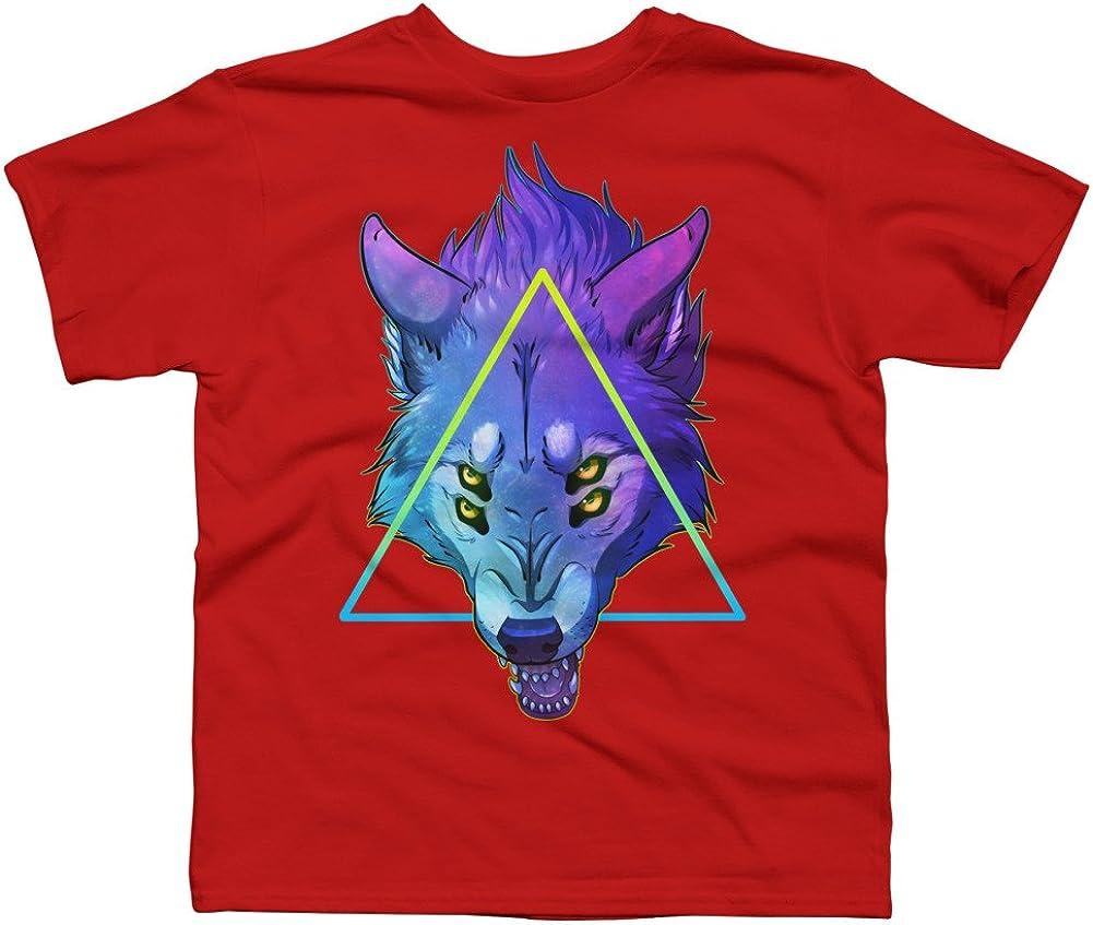 Design By Humans V1 Boys Youth Graphic T Shirt PREDATOR