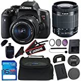 Canon EOS Rebel T6i/750D DSLR Camera with EF-S 18-55mm f/3.5-5.6 IS STM Lens + 16GB Deluxe Accessory Bundle
