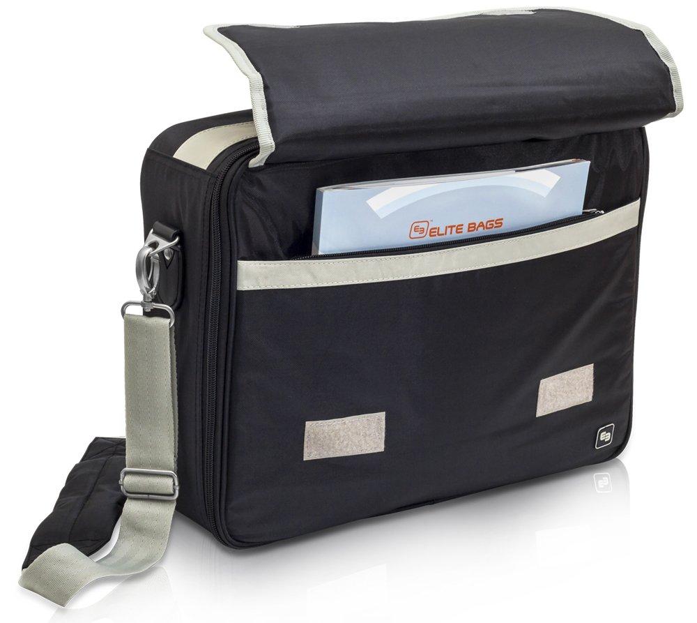 Élite Bags Mod. PRACTI´S   Maletín médico asistencia domiciliaria   Múltiples compartimentos internos   Con separadores y velcro ajustable   Azul o ...