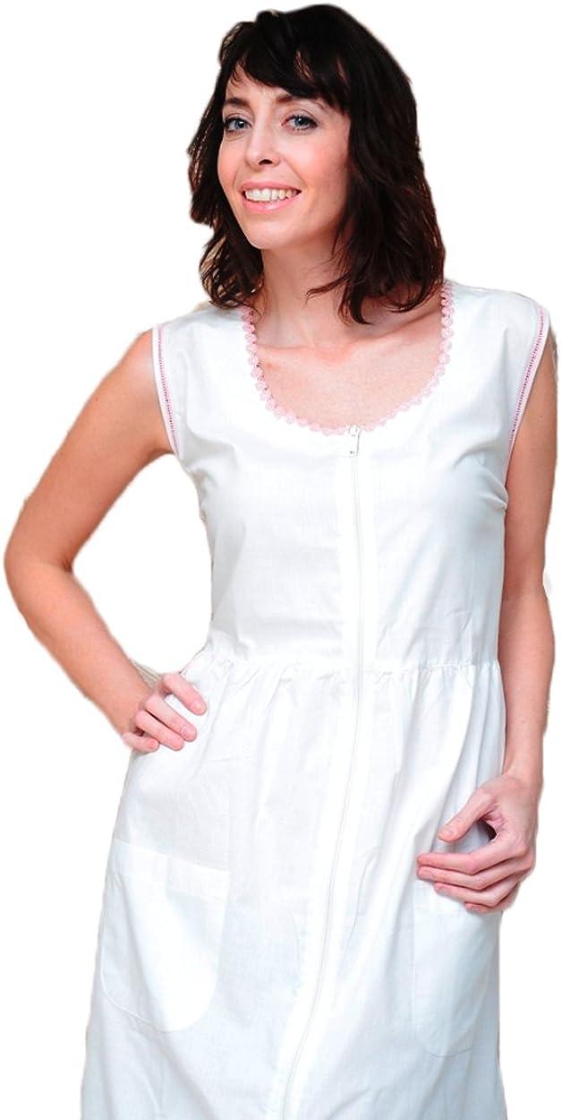 The 1 for U Plus Size Amelia Women's 100/% Cotton Victorian Nightgown,2X,White