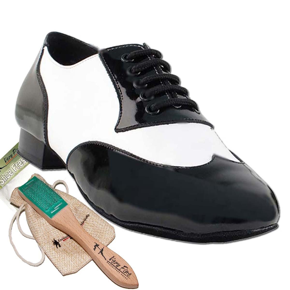 Men Ballroom Dance Shoes Standard & Smooth Tango Wedding Salsa Shoe CM100101EB-Very Fine 1