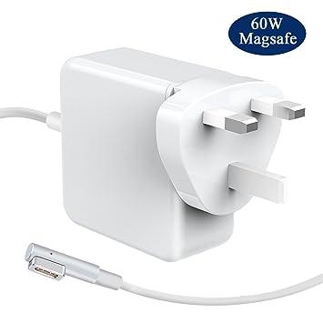 LIVEIMPEX Compatible para 60W MacBook Pro Cargador A1278 A1172 ...
