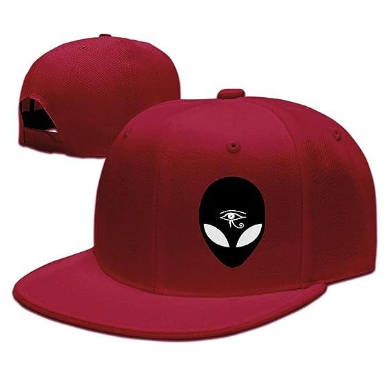 Custom Unisex Ash Adjustable Cool Third Eye Snapback Flat Hip-hop Hat One  Size at Amazon Men s Clothing store  33418c297f1d