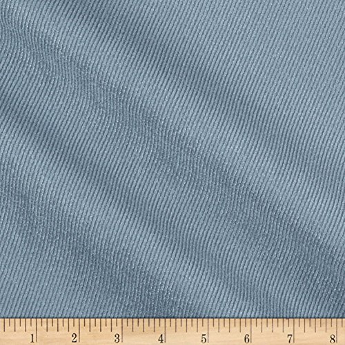Eroica 0589075 Twill Patterned Legacy Suede Denim Fabric by The Yard, ()