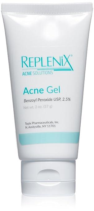 Replenix Acne Solutions 2.5% Benzoyl Peroxide Gel, 2 Oz