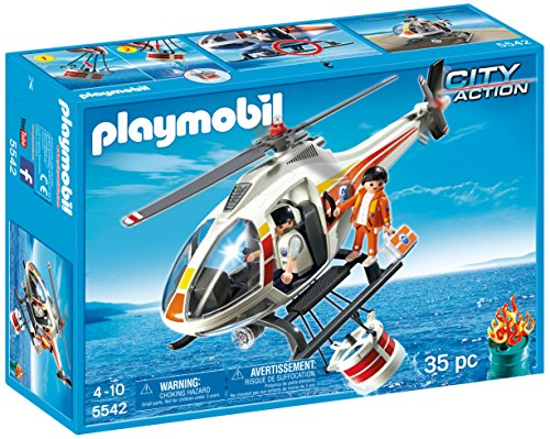 - PLAYMOBIL® Fire Fighting Helicopter Set