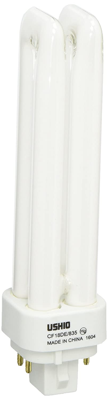 Ushio BC2942 3000143 CF18DE 835 Double Tube 4 Pin Base Compact Fluorescent Light Bulb