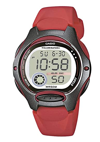 4185365cd75b Casio Reloj Digital para Mujer de Cuarzo con Correa en Resina LW-200-4AVEF   Casio  Amazon.es  Relojes