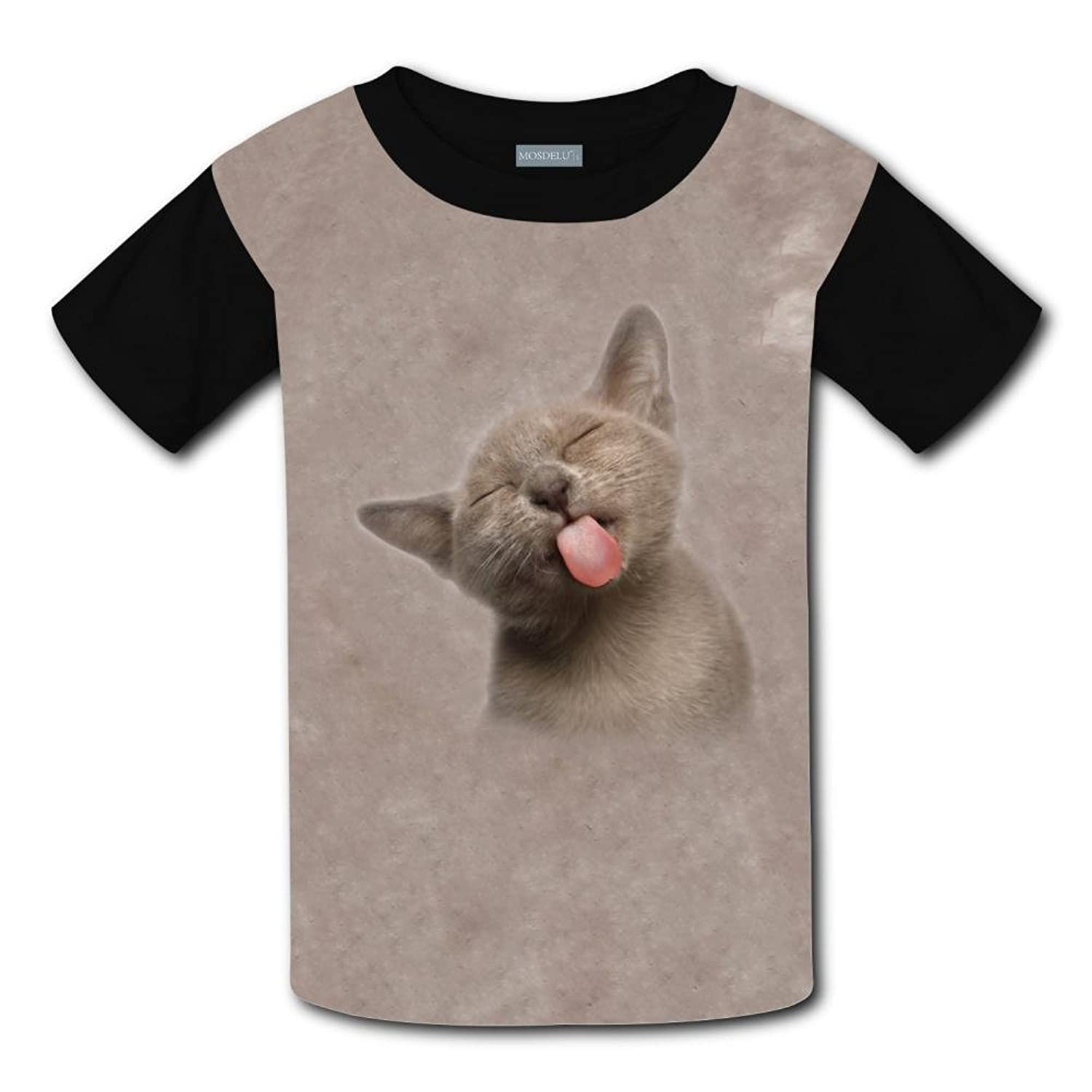 A Naughty Cat Light Weight T-Shirt 2017 The Latest Version For Kidsfree Postage supplier