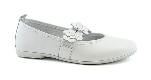 e88d5beb01b22 Balocchi 491686 27 29 Laika Bianco Scarpe Bambina Ballerina Elastico  Amazon .it  Scarpe e borse
