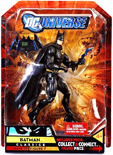 Dc Universe BATMAN black costume wave 10 imperiex series walmart exclusive -