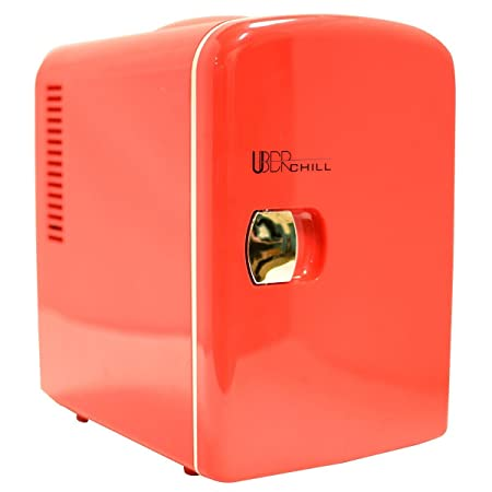 Uber Appliance UB-CH1 Chill 6 - MIni nevera retro personal: Amazon ...