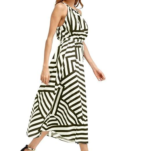 38612160b3c UOFOCO Summer Dress for Women Sundress Blouse Sexy Summer Boho Maxi ...
