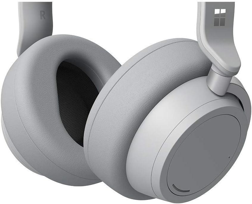 Refurbished Platinum Microsoft Surface Wireless Bluetooth Noise-Cancelling Headphones