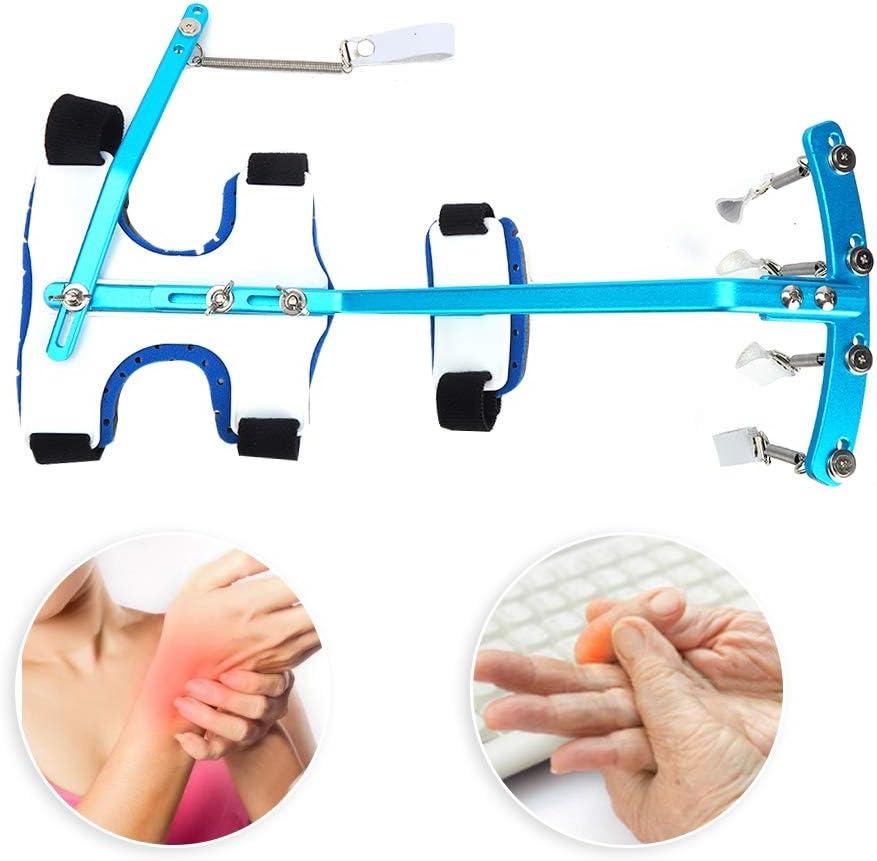 Entrenador de dedos, Ejercitador ortopédico de muñeca de dedo, Manos multifuncionales Capacitación de fisioterapia de dedo Dispositivo ortopédico dinámico de mu&ntil