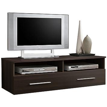 Justyou Berne Meuble Tv Lowboard Hxlxl 35x120x45 Cm Wenge Mat