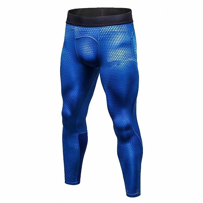 Bmeigo Pantalones de Deportes Hombre Polainas Apretadas de Correr con  Efecto de compresión y función de Secado rápido  Amazon.es  Ropa y  accesorios da2b601987fb