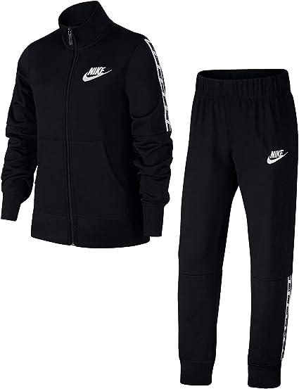 Nike g NSW TRK Suit Survêtement Tricot, Filles