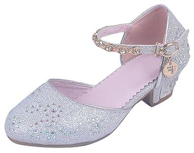 SMITHROAD Mädchen Prinzessin Schuhe Giltzer Sandale Kinder