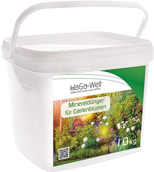 Flores abono Fertilizante Mineral abono Fertilizante Plantas Para Jardín Flores 10 kg: Amazon.es: Jardín