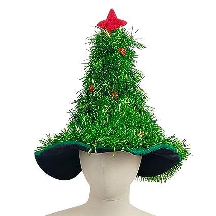 Alberi Di Natale Addobbati Foto.Eizur Cappello Albero Di Natale Costume Di Natale Forma Di